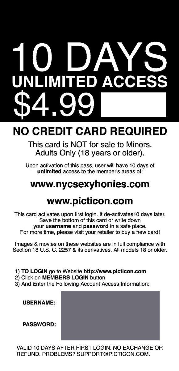 access adult card internet prepaid