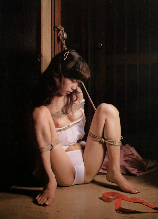 Asian girl rope bondage